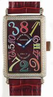 Replica Franck Muller Long Island Crazy Hours Large Unisex Unisex Wristwatch 1200 CH-15