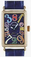 Replica Franck Muller Long Island Crazy Hours Large Unisex Unisex Wristwatch 1200 CH-16
