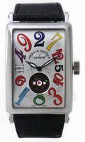 Replica Franck Muller Long Island Crazy Hours Tourbillon Large Mens Wristwatch 1300 T CH-2