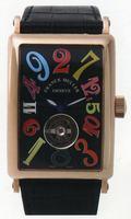 Replica Franck Muller Long Island Crazy Hours Tourbillon Large Mens Wristwatch 1300 T CH-5
