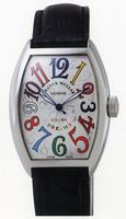 Replica Franck Muller Ladies Small Cintree Curvex Small Ladies Wristwatch 1752 QZ COL DRM O-2