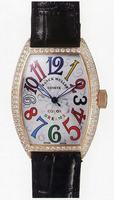 Replica Franck Muller Ladies Small Cintree Curvex Small Ladies Wristwatch 1752 QZ COL DRM O-3