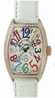 Replica Franck Muller Ladies Small Cintree Curvex Small Ladies Wristwatch 1752 QZ COL DRM O-4