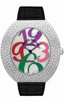 Replica Franck Muller Infinity Ellipse Extra-Large Ladies Ladies Wristwatch 3650 QZ A COL DRM D