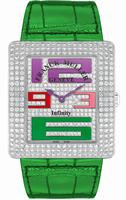 Replica Franck Muller Infinity Reka Large Ladies Ladies Wristwatch 3740 QZ A COL DRM D CD