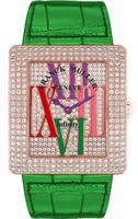 Replica Franck Muller Infinity Reka Large Ladies Ladies Wristwatch 3740 QZ R AL COL DRM D CD