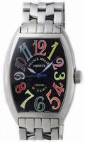 Replica Franck Muller Mens Small Cintree Curvex Large Mens Wristwatch 5850 SC COL DRM O-3