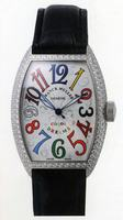 Replica Franck Muller Mens Small Cintree Curvex Large Mens Wristwatch 5850 SC COL DRM O-4
