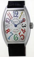 Replica Franck Muller Mens Small Cintree Curvex Midsize Mens Wristwatch 5850 SC COL DRM O-7