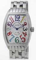 Replica Franck Muller Mens Small Cintree Curvex Large Mens Wristwatch 5850 SC COL DRM O-8