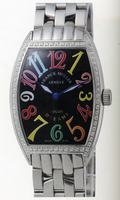 Replica Franck Muller Mens Small Cintree Curvex Large Mens Wristwatch 5850 SC COL DRM O-9