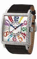 Replica Franck Muller Master Square Midsize Ladies Ladies Wristwatch 6000 K SC DT COL DRM V D