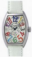 Replica Franck Muller Ladies Medium Cintree Curvex Midsize Ladies Wristwatch 7502 QZ COL DRM O-1