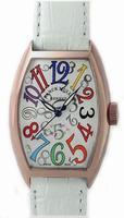 Replica Franck Muller Ladies Medium Cintree Curvex Midsize Ladies Wristwatch 7502 QZ COL DRM O-3