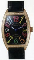 Replica Franck Muller Ladies Medium Cintree Curvex Midsize Ladies Wristwatch 7502 QZ COL DRM O-6