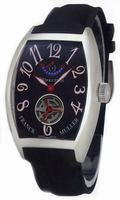 Replica Franck Muller Revolution 1 Tourbillon Midsize Mens Wristwatch 7850 T REV 1-3