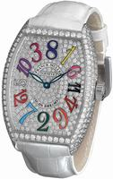 Replica Franck Muller Crazy Hours Midsize Ladies Ladies Wristwatch 7851 CH COL DRM D CD