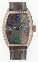 Replica Franck Muller Cintree Curvex Crazy Hours Large Mens Wristwatch 7851 CH COL DRM O-24