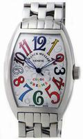 Replica Franck Muller Mens Medium Cintree Curvex Extra-Large Mens Wristwatch 7851 SC COL DRM-1
