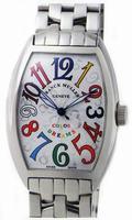 Replica Franck Muller Mens Medium Cintree Curvex Extra-Large Mens Wristwatch 7851 SC COL DRM-1