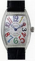 Replica Franck Muller Mens Medium Cintree Curvex Large Mens Wristwatch 7851 SC COL DRM-3