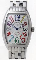 Replica Franck Muller Mens Medium Cintree Curvex Large Mens Wristwatch 7851 SC COL DRM-4