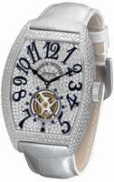 Replica Franck Muller Cintree Curvex Tourbillon Midsize Ladies Ladies Wristwatch 7851 T D CD