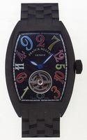 Replica Franck Muller Cintree Curvex Crazy Hours Tourbillon Extra-Large Mens Wristwatch 7880 T CH COL DRM-5