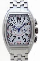 Replica Franck Muller King Conquistador Chronograph Large Mens Wristwatch 8005 K CC O-1