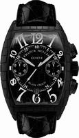 Replica Franck Muller Black Croco Large Mens Wristwatch 8880 CC AT BLK CRO