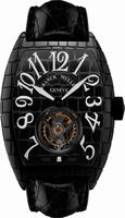 Replica Franck Muller Black Croco Large Mens Wristwatch 8880 T BLK CRO