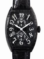 Replica Franck Muller Black Croco Extra-Large Mens Wristwatch 8880MBSCDT BLK CRO