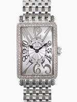 Replica Franck Muller Ladies Medium Long Island Midsize Ladies Wristwatch 902QZD RELIEF