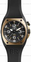 Replica Bell & Ross BR 02-92 Pink Gold & Carbon Mens Wristwatch BR02-PINKGOLD-CA