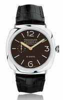 Replica Panerai Radiomir 8 Days Platinum Mens Wristwatch PAM00198