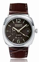 Replica Panerai Radiomir 8 Days GMT Platinum Mens Wristwatch PAM00201