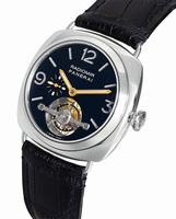 Replica Panerai Radiomir Tourbillon Antiquorum Mens Wristwatch PAM00205