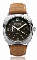 Replica Panerai Radiomir 10 Days GMT Platinum Mens Wristwatch PAM00274