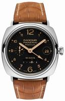 Replica Panerai Radiomir 10 Days GMT Platino Mens Wristwatch PAM00495