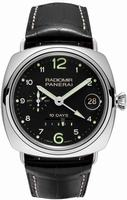 Replica Panerai Special Editions Radiomir 10 Days GMT Oro Bianco Mens Wristwatch PAM00496