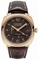 Replica Panerai Special Editions Radiomir 10 Days GMT Oro Rosso Mens Wristwatch PAM00497