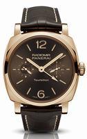 Replica Panerai Radiomir 1940 Tourbillon GMT Oro Rosso Mens Wristwatch PAM00558