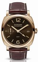 Replica Panerai Radiomir 1940 GMT Oro Rosso Mens Wristwatch PAM00570